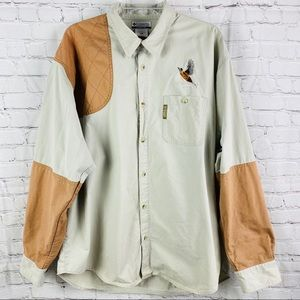 Columbia Hunting Men's Rifleman's Shoulder Shirt